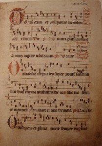Trinum 2 209x300 Gregoriansk sång