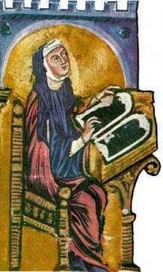 hildegard 180x300 Hildegard av Bingen   helgon och kyrkolärare
